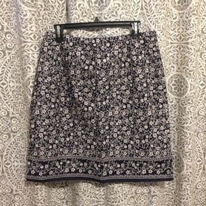 Casual Corner Annex lined skirt size 14